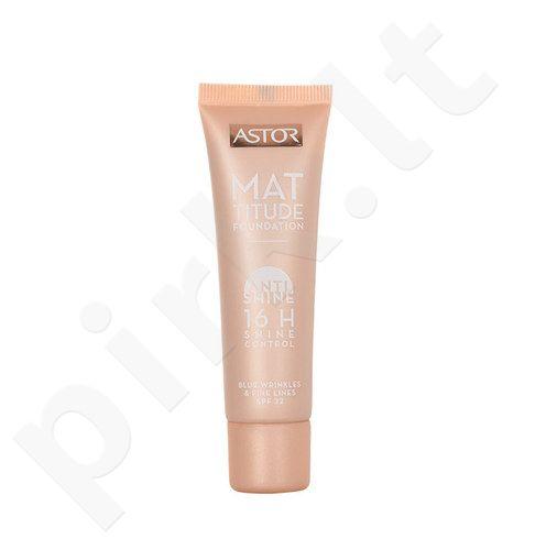 Astor matinė kreminė pudra SPF22, kosmetika moterims, 30ml, (400 Amber)