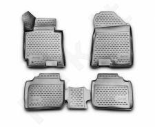 Guminiai kilimėliai 3D KIA Cerato 2013->, 4 pcs. /L38007G /gray