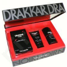 Guy Laroche Drakkar Noir rinkinys vyrams, (EDT 100ml + 75ml pieštukinis dezodorantas + 50ml dušo želė)