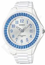 Laikrodis CASIO LX-500H-2B kvarcinis. moteriškas Resin strap. strass. Data. WR 50mt. **ORIGINAL BOX**