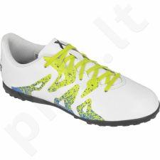 Futbolo bateliai Adidas  X 15.4 TF Jr S74613