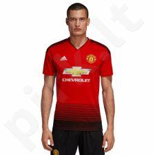 Marškinėliai futbolui Adidas Manchester United M CG0040