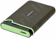 Išorinis diskas Transcend 25M3 2.5' 2TB USB3, JAV karinis standartas