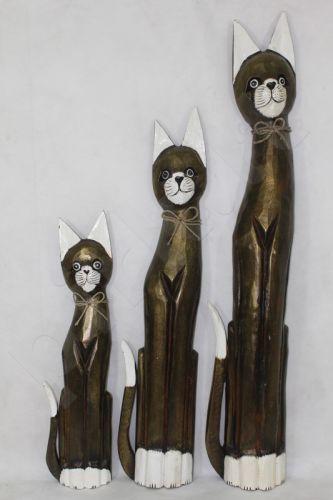 Medinė statulėlė Katinas 82870