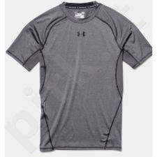 Marškinėliai termoaktyvūs Under Armour HeatGear Compression Shortsleeve 1257468-090