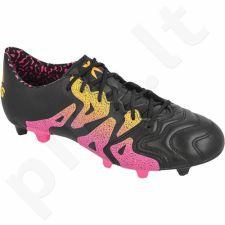 Futbolo bateliai Adidas  X 15.1 FG/AG M Leather AQ5791