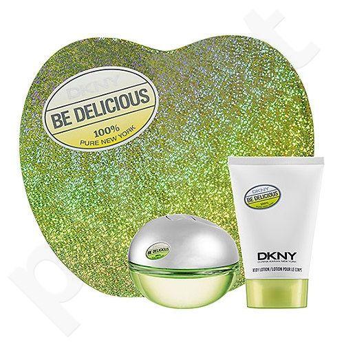 DKNY (EDP 50 ml + 100 ml kūno losjonas) Be Delicious, rinkinys moterims