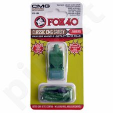 Švilpukas FOX CMG Classic Safety + virvutė 9603-0608 žalia