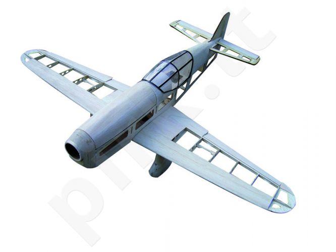 Radio bangomis valdomas P-6 Mew Gull CNC Lasercut Bausatz
