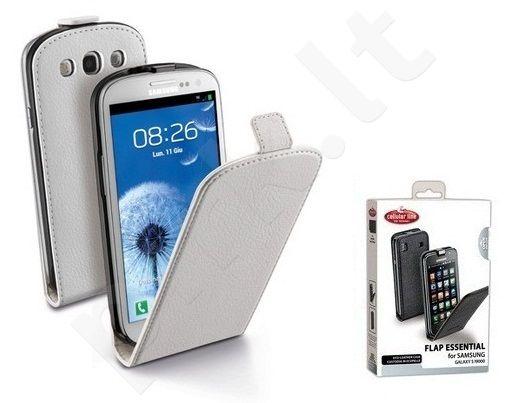 Samsung Galaxy S2 dėklas FLAP ESSEN Cellular baltas