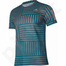 Marškinėliai bėgimui  adidas Response Print M BS4682