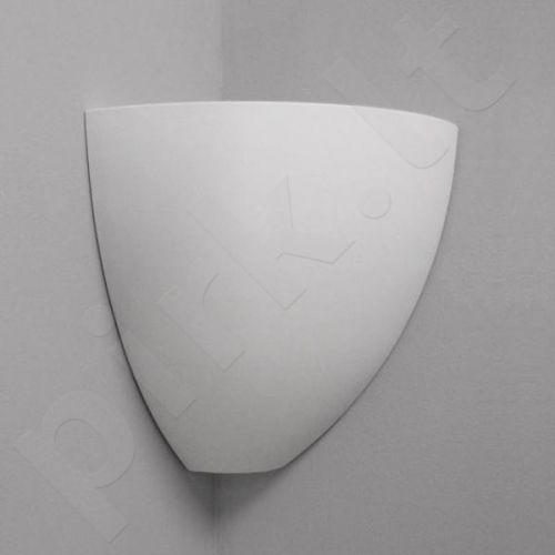 Sieninis šviestuvas gipsinis 10-KLEPSYDRA NAROŻNIK