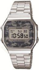 Laikrodis *NEW!* CASIO VINTAGE CAMOUFLAGE   A168WEC-1  . chronografas **ORIGINAL BOX**