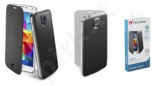 Samsung Galaxy S5 dėklas FLIP BOOK Cellular juodas