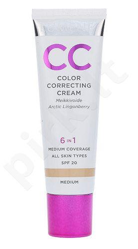 Lumene CC veido spalva koreguojantis kremas SPF20, kosmetika moterims, 30ml, (Medium)