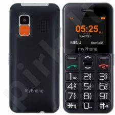 Telefonas MyPhone HALO Easy juodas
