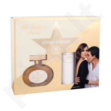 Antonio Banderas Her Golden Secret rinkinys moterims, (EDT 80 ml + dezodorantas 150 ml)