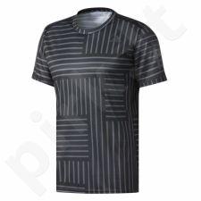 Marškinėliai bėgimui  adidas Response Print M BS4687