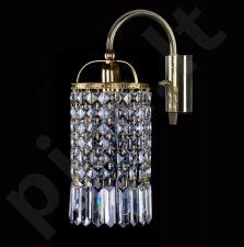 Sieninis šviestuvas krištolo  224-SMALL GAME 94-01 WL firmy ArtGlass