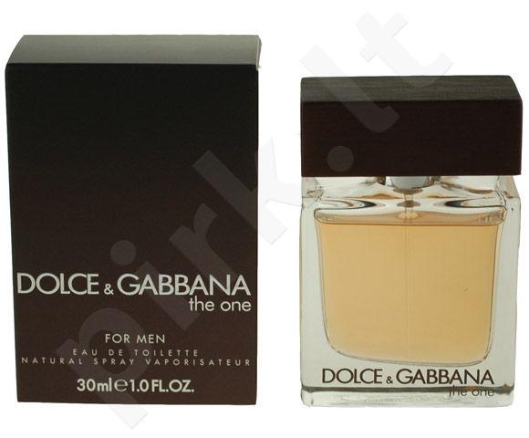 Dolce & Gabbana The One, tualetinis vanduo (EDT) vyrams, 30 ml