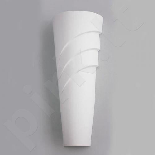 Sieninis šviestuvas gipsinis 10-KOLUMNA FALA