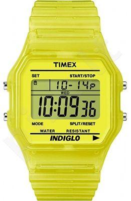 Laikrodis TIMEX 80's DIGITAL YELLOW