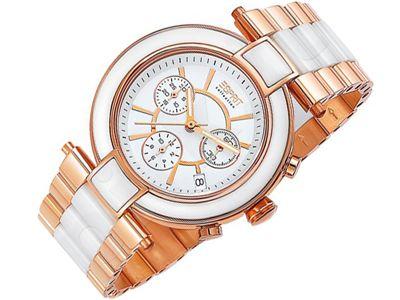 Esprit EL101582F05 Physis Rose Gold moteriškas laikrodis Chronograph