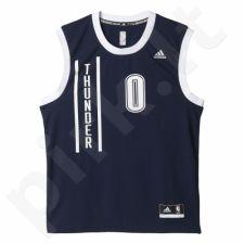 Marškinėliai krepšiniui Adidas Replica Oklahoma City Thunder Russell Westbrook M A21126