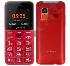 Telefonas MyPhone HALO Easy raudonas