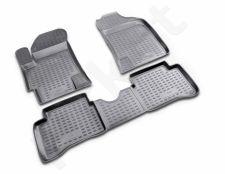 Guminiai kilimėliai 3D KIA Rio 2005-2011, 4 pcs. /L38041G /gray