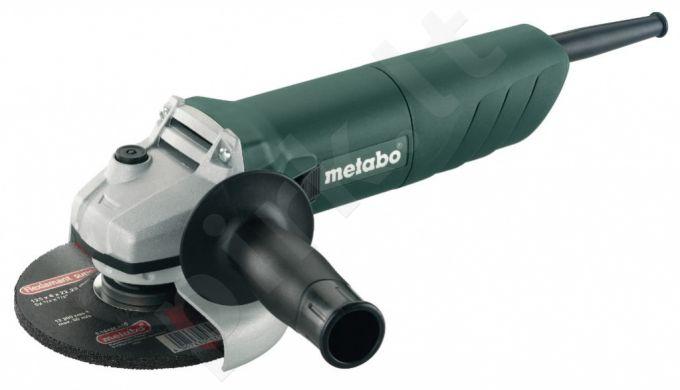 Kampinis šlifuoklis Metabo W 820, 125mm