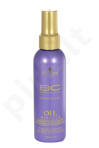 Schwarzkopf BC Bonacure Oil Miracle Barbary Fig & Keratin Milk, kosmetika moterims, 150ml