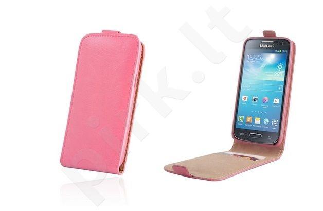 Samsung Galaxy Ace 4 dėklas PLUS Forever rožinis