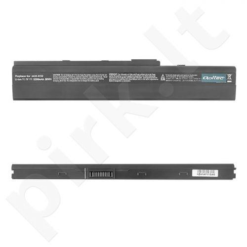 Nešiojamo kompiuterio baterija Qoltec HP DV2000, 10.8-11.1V, 5200mAh
