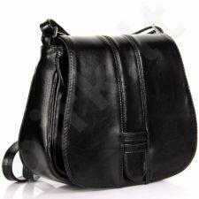 DAN-A T252 juoda rankinė iš natūralios odos
