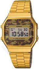 Laikrodis *NEW!* CASIO VINTAGE CAMOUFLAGE   A168WEGC-5  . chronografas **ORIGINAL BOX**