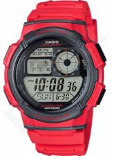 Laikrodis CASIO AE-1000W-4A YOUTH DIGITAL COLLECTION World Time. Illuminator. WR 100mt ***ORIGINAL BOX***