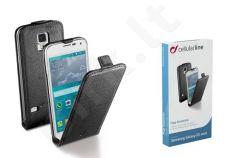 Samsung Galaxy S5 mini dėklas FLAP ESSEN Cellular juodas