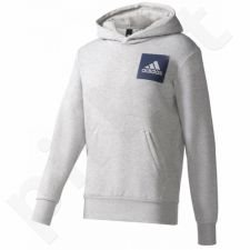 Bliuzonas  Adidas Essentials Chest Logo Pullover Hood Fleece M B45729