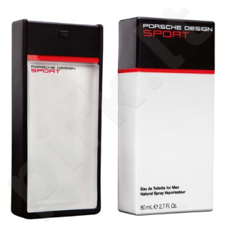 Porsche Design Sport, tualetinis vanduo (EDT) vyrams, 80 ml