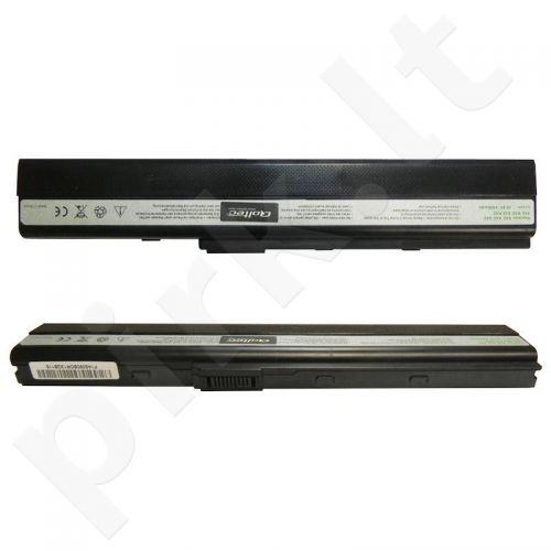 Nešiojamo kompiuterio baterija Qoltec Asus A32-K52 X42, 10.8-11.1 V, 5200mAh