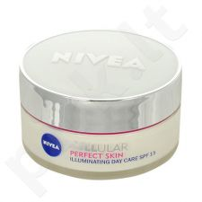 Nivea Cellular Perfect Skin Illuminating dieninis kremas SPF15, kosmetika moterims, 50ml