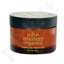 John Masters Organics Sculpting Clay Medium Hold, kosmetika moterims, 60g