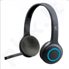 Logitech Wireless Headset H600, Black