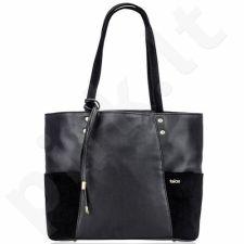 Rankinė moteriška shopper Felice Bonita FB03 juoda