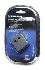 USB šakotuvas Manhattan USB2.0 4 ports Micro