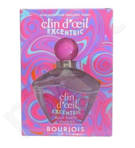 BOURJOIS Paris Clin d`Oeil Excentric, tualetinis vanduo (EDT) moterims, 75 ml
