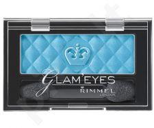 Rimmel London Glam Eyes Mono akių šešėliai, kosmetika moterims, 2,4g, (200 Spicy Bronze)