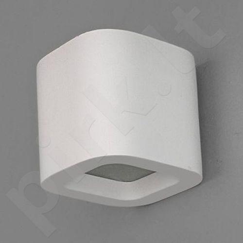 Sieninis šviestuvas gipsinis 10-KORYTKO ZAOKRĄGLONE WYSOKIE 12 Z DOLNYM SZKLEM