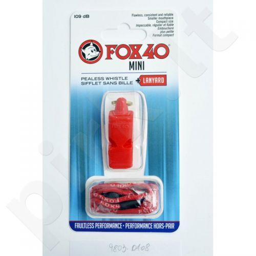 Švilpukas FOX40 Mini Safety +virvutė 9803-0108
